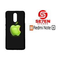 Casing HP Xiaomi Redmi Note 4 Apple LOGO Wallpaper 444 Custom Hardcase