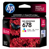 Tinta HP 678 Colour Original , tinta printer HP ori