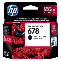 Tinta HP 678 Black Original , tinta printer HP ori