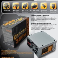 Jual PSU DAZUMBA 380WATT NEW BOX Murah