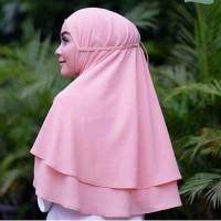 Terbaru Hijab Jilbab Khimar Bergo Instan Aisha Rubiah Al-Azhar KCB