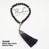 Tasbih Black Onyx 8mm