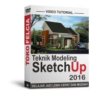 Video Tutorial Sketchup 2016 Teknik Modeling