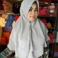 Jual bergo 2 layer / husna pet / instan rubiah / jilbab instan murah Murah