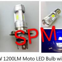 harga Rtd Lampu Led Motor 3 Sisi Bohlam Depan E01c H4 / Hs1 Tokopedia.com