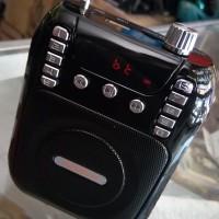 PORTABLE LOUD SPEAKER BLUETOOTH USB/MMC/FM/MUSIC ANGEL MIC