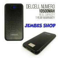 Jual Delcell Numero Digital Indicator Powerbank 10.500mAh Real Capacity Murah