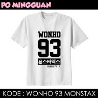 TSHIRT PO MINGGUAN - WONHO 93 MONSTA X
