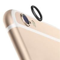 Jual Rear Camera Lens Protector Protective Metal Ring iPhone 6 Black Murah