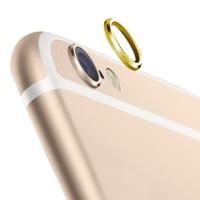 Jual Rear Camera Lens Protector Protective Metal Ring iPhone 6 Gold Murah