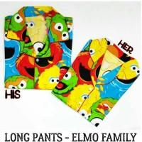 Piyama Dewasa Pria-elmo Family Mens Long Pants Pajama-baju Tidur Cowo
