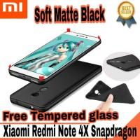 Jual Xiaomi Redmi Note 4X Snapdragon Cover Case Babyskin Soft Black Matte Murah