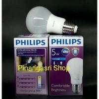 Jual Lampu LED Philips 5 Watt 5W Philip 5 W 5Watt Putih GANTI 6 Watt 6W 6 W Murah