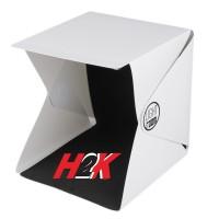 Mini Photo Studio LIGHTROOM Portable / Lampu LED Kotak Studio Foto