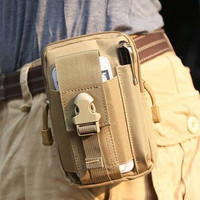 Jual Tas Pinggang Gadget Tactical Army Smartphone Bag Neo Waist Belt Murah