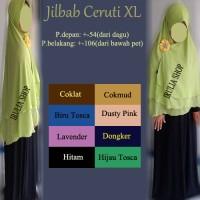 Jual jilbab G3 Ceruti Layer Pet / XL Murah