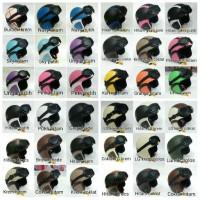 Jual Helm Retro Klasik krem coklat hitam Murah