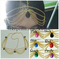 Jual Headchain headpiece headband hiasan kepala K-021 Murah