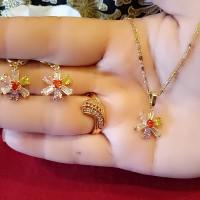 Jual 633 perhiasan set batu zircon xuping Murah