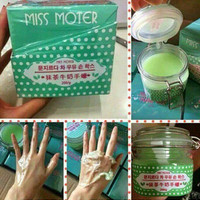 Jual PROMO MISS MOTER HIJAU / MATCHA AND HAND WAX LARIS Murah