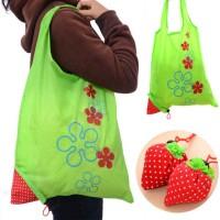 Jual Tas Belanja Serbaguna Lipat Strawberry Baggu Bag Bisa Jadi Besar MURAH Murah