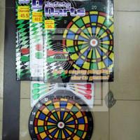 Jual dart board safety / papan dart anak / panahan ukuran 35CM Murah Murah