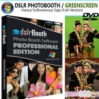 Software dslr booth profesional edition green screen