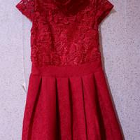 Jual Dress Red Cheongsam / Dress Imlek / Murah