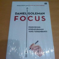 harga Focus ( Daniel Goleman) Tokopedia.com