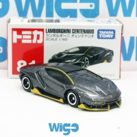 Tomica Takara Tomy no. 81 Lamborghini Centenario LP770-4 hitam 1 65