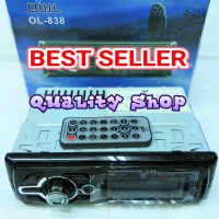 tape mobil singledin OWL 838 usb sd dan radio (best seller)