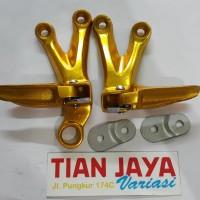harga Step Gantung Footstep Belakang Satria Fu 150 Gold Tokopedia.com