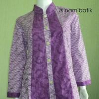 Blouse Batik Wanita Kerja