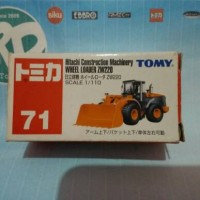 Tomica TOMY no 71 - Hitachi Construction Machinery Wheel Loader ZW220