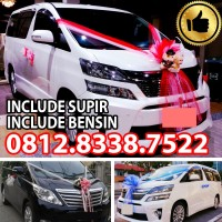 WEDDING CAR TOYOTA ALPHARD VELLFIRE / MOBIL PENGANTIN CAR RENTAL