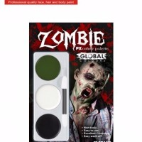 Jual Global Face Paint Kit - Zombie Kit Murah