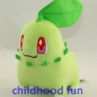 Boneka Pokemon Boneka Chikorita 12cm