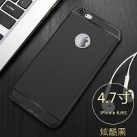 Slim Matte Case iPhone 6 6s 7 Plus 6+ 7+ 6s+ Lubang Logo