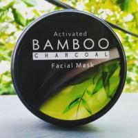 Jual Masker Wajah Activated Bamboo Charcoal Murah
