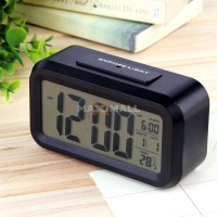 Smart Digital Desktop Clock/ Jam Meja (Alarm + Thermometer) 9901