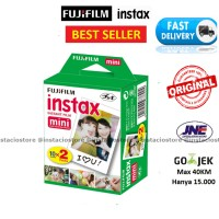 Jual Fujifilm Refill Instax Mini Film Polaroid Twinpack Plain (20 sheets) Murah