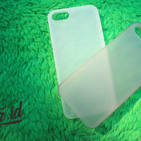 Ultra Thin Transparan (Semi Hard - Soft Case) Iphone 4 5 5c 6 7 Plus