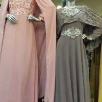 Jual Maxy Dress Brokat Frozen / Busana Muslim Murah