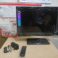 "TV LED Niko 19"" VGA, USB, HDMI, A/V, Support HD, Murah Berkualitas."