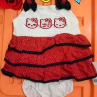 Jual Dress bayi lucu baju bayi polkadot kode J102 Murah
