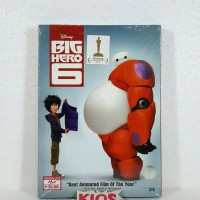 DVD Big hero 6 - film cartoon disney movie
