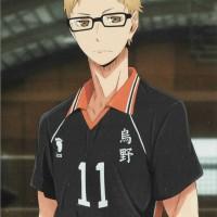 Poster Anime Haikyuu Tsukishima Kei