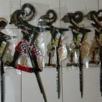 Jual WAYANG KULIT PANDAWA LIMA HITAM Murah