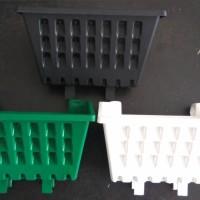 Pot Tanaman Merambat Plastik Gantung Tempel Argo Hitam Hijau