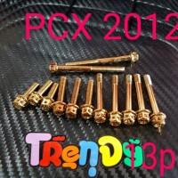 harga Baut Probolt Set Gold Cvt Pcx 2012 Tokopedia.com